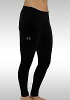 Legging Lang Velours zwart K753zw