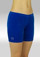 Legging kort Glad velours blauw P756bl