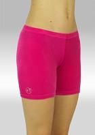 Legging kort glad velours roze P756rz