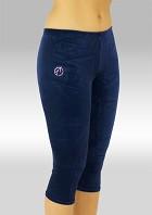 Legging 3/4 lang Blauw Velours P754ma