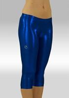 Legging 3/4 lang wetlook kobaltblauw W754ko