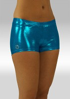 Hotpants Wetlook Blauw W758tu